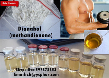 Çin Dianabol Oral Anabolic Steroids Dbol Raw Powder Source Metandienone Bodybuilder Tedarikçi