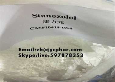 Çin Winstrol Raw Steroids Powder Stanozolol For Bulking Cycle 10418-03-8 Tedarikçi