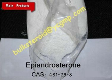 Çin Fat Loss Steroids Hormone White Powder Epiandrosterone CAS 481-29-8 Distribütör