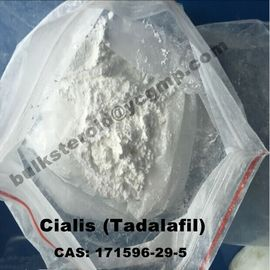 Çin Safety Effective Male Enhancement Drugs White Powder Tadalafil  Cialis 171596-29-5 Distribütör