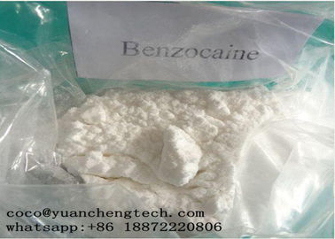 Çin CAS 94-09-7 Local Anesthetic Drugs Benzocaine Powder High Purity GMP ISO Certification Fabrika